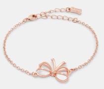 Armband mit Kleiner Herzförmiger Schleife