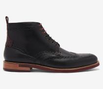 Ankle Boots im Brogue-Stil