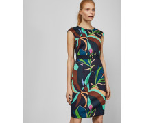 Bodycon-Kleid mit Supernatural-Print