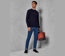 Jeans im Tapered-Fit mit Heller Waschung