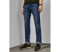 Hellblaue Jeans mit Schmal Zulaufendem Bein