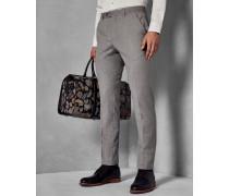 Enge Debonair Anzughose aus Wolle