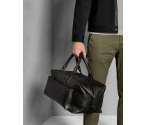 Reisetasche aus Geprägtem Leder