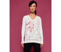 Pullover mit Soft Blossom-Print