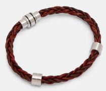 Zweifarbiges Gewebtes Armband