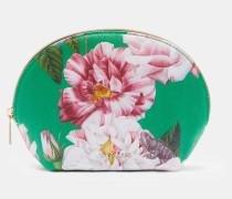 Kuppelförmige Make-Up-Tasche mit Iguazu-Print