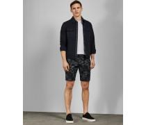 Bedruckte Baumwoll-Shorts
