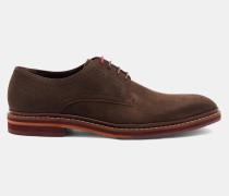 Derby-Schuhe aus Nubukleder