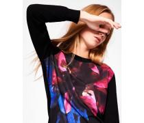 Pullover mit Impressionist Bloom-Print
