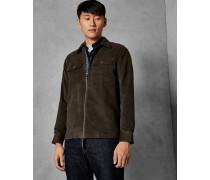 Hemdjacke aus Baumwolle mit Zwei Taschen