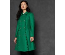 Ausgestellter Mantel aus Kaschmir-Mix