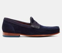 Veloursleder-Loafer