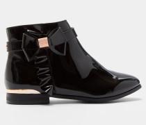 Ankle Boots in Lackoptik