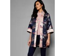 Kimono mit Chinoiserie Jacquard-Print