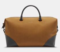 Reisetasche Aus Nubuk-kunstleder