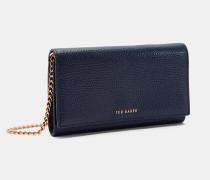 Umhänge-Portemonnaie aus Leder