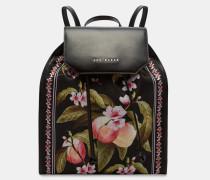 Rucksack Mit Peach Blossom-print