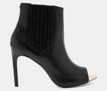 Peep Toe-Stiefel mit Absatz