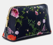 Make-Up-Tasche mit Hedgerow-Print
