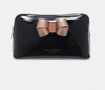 Make-Up-Tasche mit Schleifendetail