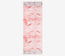 Cape-Schal aus Seide mit Angel Falls-Print