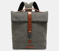 Woll-rucksack Mit Rollklappe