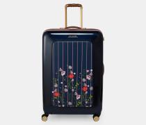 Großer Koffer mit Hedgerow-Print