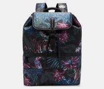 Rucksack mit Dschungel-Print