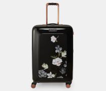 Mittelgroßer Koffer mit Opal-Print