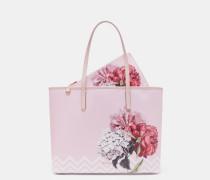 Canvas-shopper Mit Palace Gardens-print