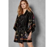 Kimono mit Opulent Fauna-Print