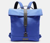 Nylon-rucksack Mit Rollklappe