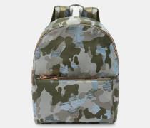 Rucksack mit Camouflage-Jacquard-Muster