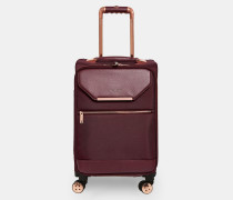 Kleiner Koffer mit Metalldetails