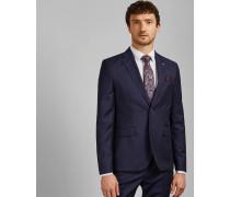 Gestreifte Debonair-Jacke aus Wolle