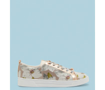Jacquard-Sneakers mit Chatsworth Bloom-Print
