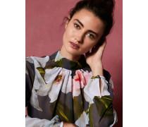 Chatsworth Bloom Gerüschte Bluse