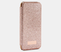 Iphone 6/6s/7/8-Hülle im Glitzer-Design