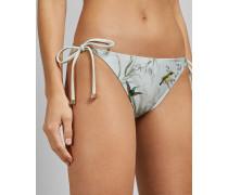 Bikinihose zum Binden mit Fortune-Print