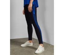 Skinny Jeans mit Seitlichen Streifen