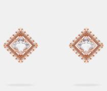 Ohrstecker mit Perlen und Kristall