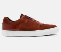 Wildleder-Sneakers mit Cupsohle