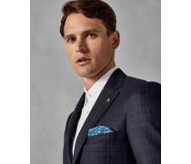 Karierte Anzugjacke aus Wolle mit Engem Schnitt