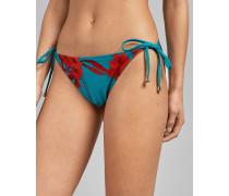 Bikinihose zum Binden mit Fantasia-Print