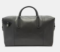 Leder-reisetasche Mit Carbonfaser-anteil