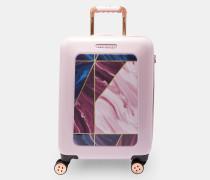Kleiner Koffer Mit Balmoral-print