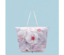 Verstaubarer Shopper mit Chelsea Grey-Print