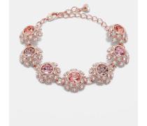 Florales Armband mit Swarovski®-Kristallen