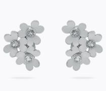 Ohrringe Verziert mit Blüte in Herzform