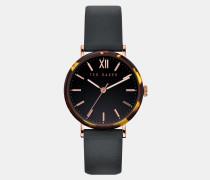 Uhr mit Detail in Hornoptik